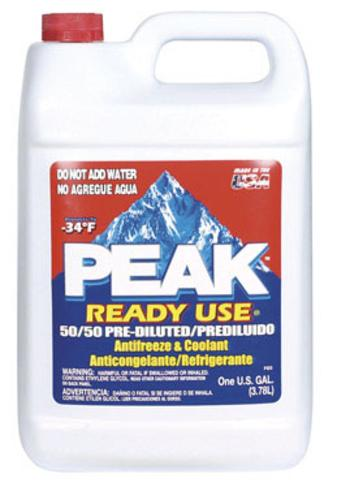 Peak RUA053 Ready To Use Antifreeze, 1 Gallon
