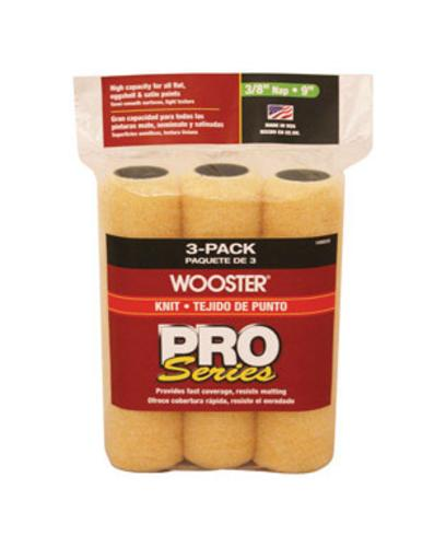 Wooster R354-9 Roller Covers Polypropylene Semi Smooth Surfaces, 90