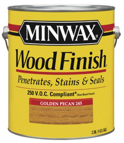 Minwax 71084 Interior Wood Finish, Golden Pecan, 1 Gallon