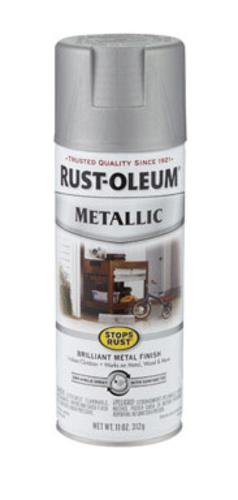 Rust-Oleum 7277-830 Stops Rust Metallic Spray Paint, 11Oz.