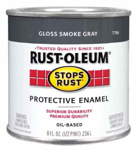 Rust-Oleum 7786-730 Metal Saver Paint, 1/2 Pint, Oil Base