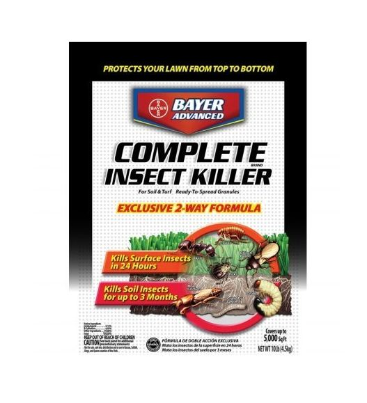 BioAdvanced 700288S Complete Insect Killer For Soil & Turf, 10 Lbs