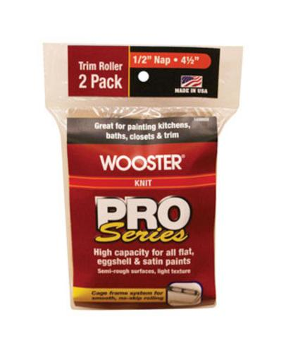 Wooster R369-4 1/2 Knit Roller Cover, 2Pck