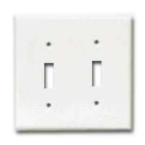 2 Gang Standard Toggle Plate On Sale Home Electrical Equipments At Low Price Lifeandhome Com