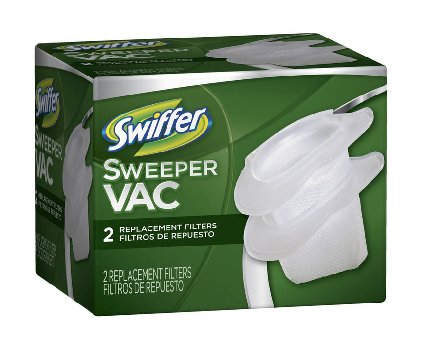 Swiffer 06174 Sweepervac Cordless Vacuum Replacement Filter, 2-Count