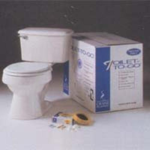 American Standard 3755N-208 Toilet-To-Go Round Front, Bone