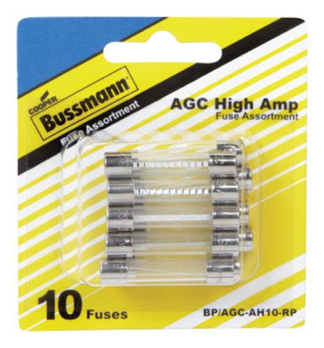 Cooper Bussman BP/AGC-AH10-RP AGC Glass Fuse Assortment Kit, 32 V