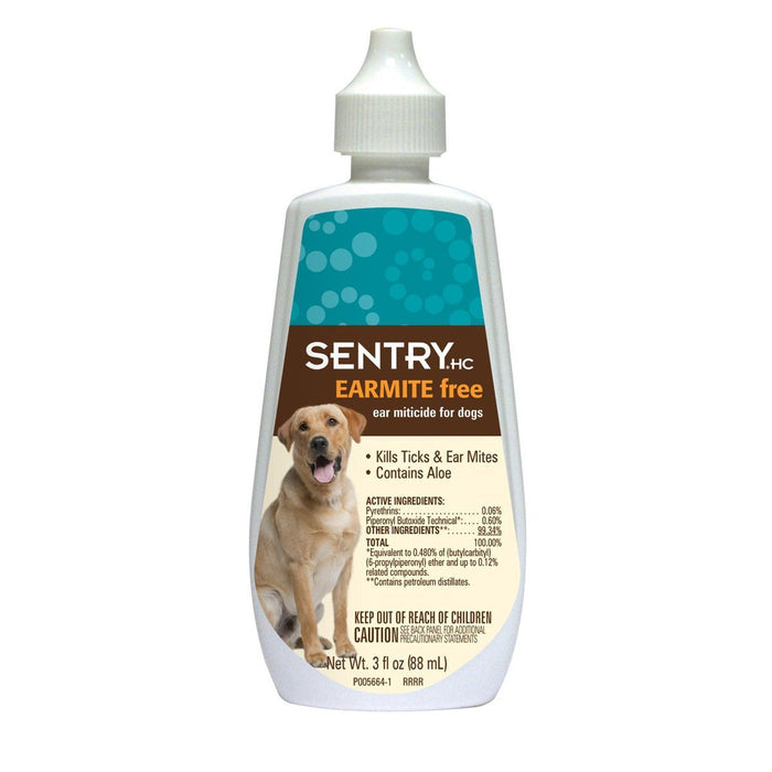 Sergeant's 2233 Sentry Ear Miticide, 3 Oz