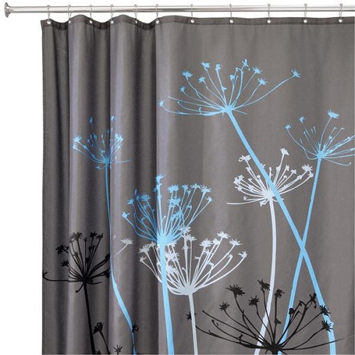 InterDesign 37221 Thistle Shower Curtain, 72
