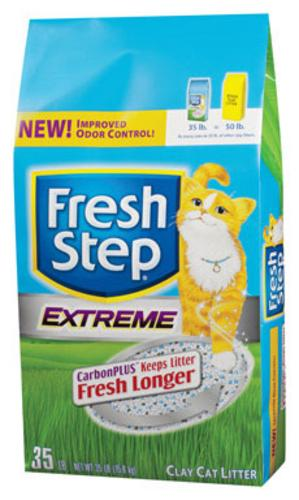 Fresh Step 02030 Extreme Litter With Carbon Plus, 35 lbs