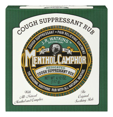 Buy j r watkins camphor cough suppressant rub - Online store for personal care, first aid & health supplies in USA, on sale, low price, discount deals, coupon code