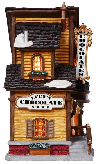 Lemax 45052 Village Lucy's Chocolate Shop, 9.1