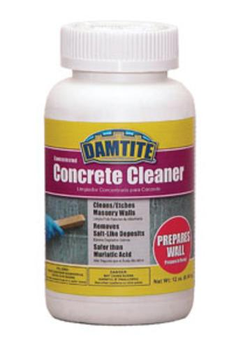 Damtite Waterproofing 19712 Concrete Cleaner, Crystals, 12 Oz.