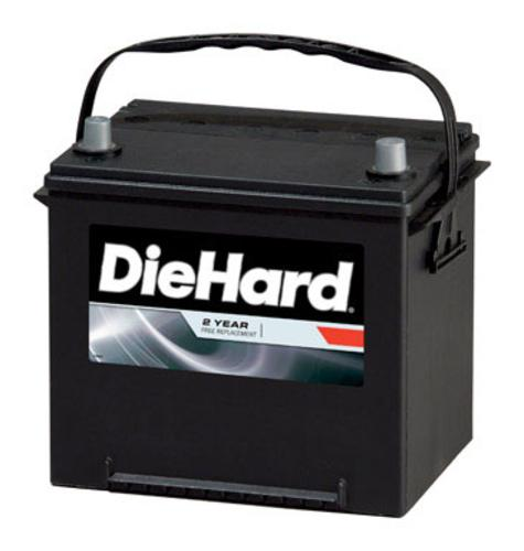 Die Hard DH35 Automobile Battery, CCA: 550, BCI Group: 35