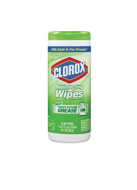 Clorox 30980 Disinfecting Wipes, 35 Count, Serene Clean