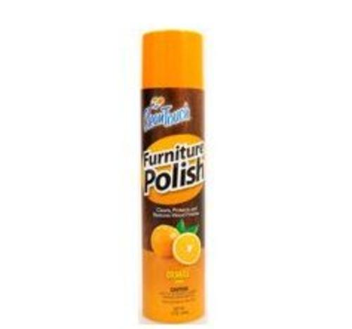 Clean Touch  9657 Furniture Polish, 10 Oz, Orange