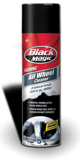 Buy black magic foaming all wheel cleaner - Online store for tires & wheels, tire & wheel cleaners in USA, on sale, low price, discount deals, coupon code