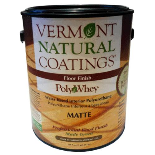 Vermont Natural Coatings 101250 Polywhey Floor, Matte, 1 Gallon
