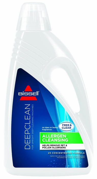 Bissell 89Q52 Allergen Carpet Cleaner, Unscented, 60 Oz