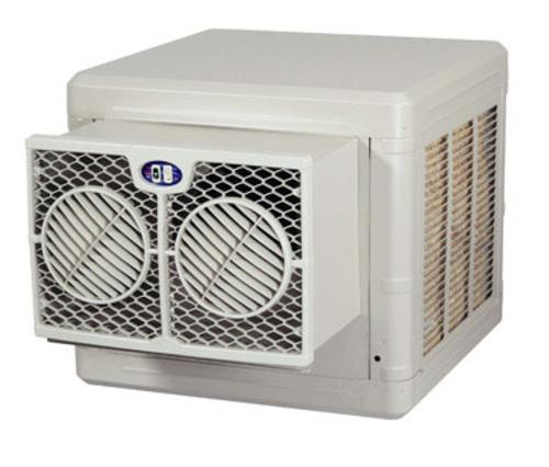Brisa BW3004 Evaporative Window Cooler, 3000 CFM, Almond