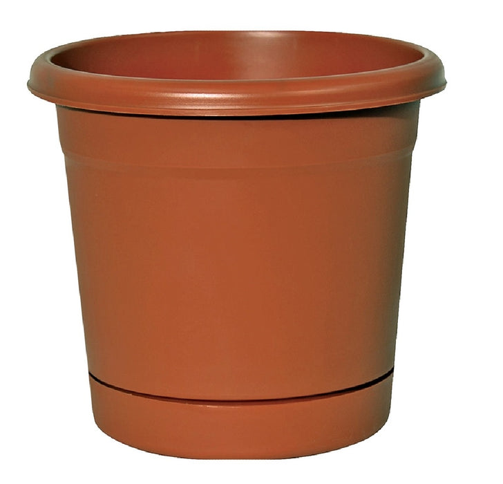 Southern Patio RN1608TC Rolled Rim Planter, Plastic