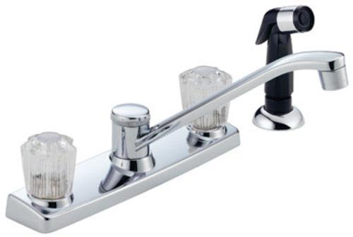 Peerless P225LF Two Handle Low Lead Kitchen Faucet, 8