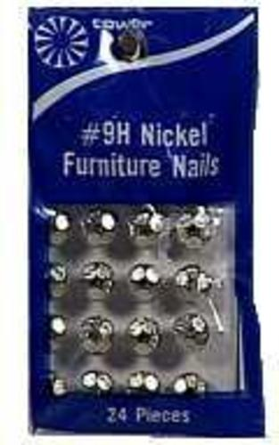 Hillman 122687-N Furniture Nails, Nickel Plated, 7/16