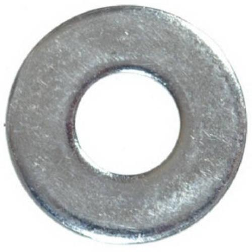 Hillman 270018 Uss Flat Washer, Zink Plated Steel, Grade 2, 1/2