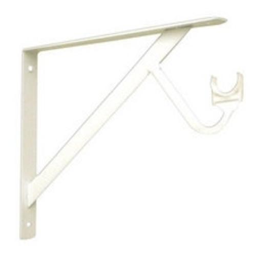 John Sterling RP-0495-WT Slide Through Bracket, White, 3