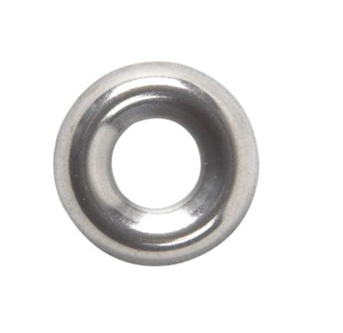 Hillman 0830756 Finish Washer, Stainless Steel, # 10