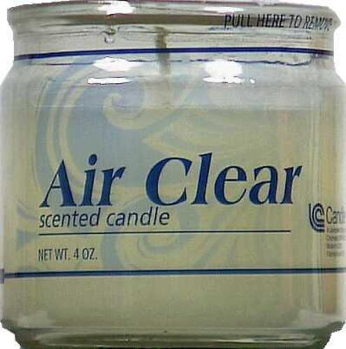 Candle Lite 2445900 Air Clear Scented Candle,4 Oz.