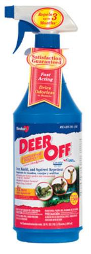Deer Off DO32RTU Deer & Squirrel Repellent, 32 Oz