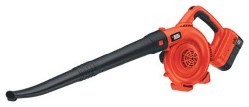 Black & Decker NSW18 Cordless Sweeper, 18 V, 120 Mph