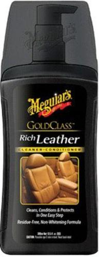 Meguiar's G17914 Gold Class Leather Gel, 13.5 Oz