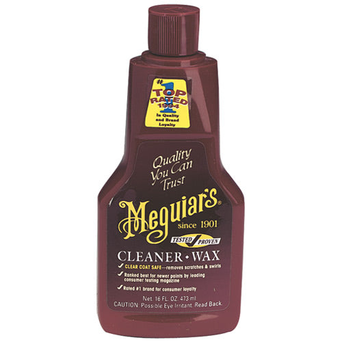 Meguiar's A1216 Car Cleaner/wax, 16 Oz