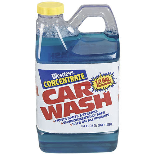 Blue Coral Wc107g High Foam Car Wash Concentrate, 64 Oz