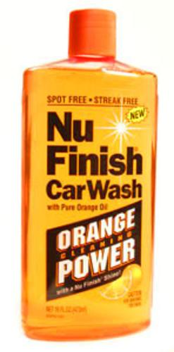 Nu Finish Nfw-820 Poly Car Wash, 16 Oz