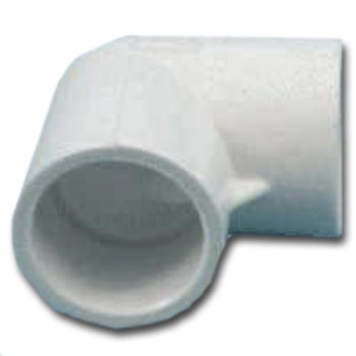 Genova 30790 Sxs Pvc 90 Degree Elbow 2-1/2