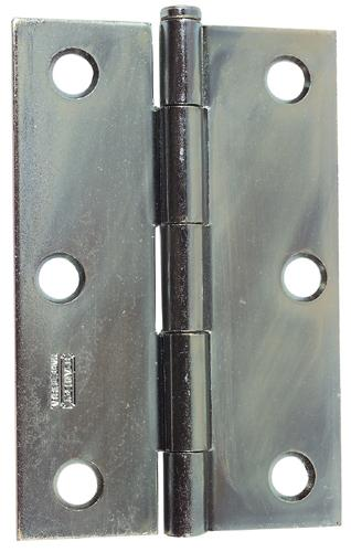 Stanley Narrow Utility Hinge, Zinc Plated, 3