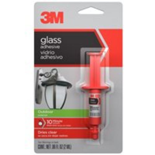 3M 18051 Outdoor Glass Adhesive, 0.06 Oz