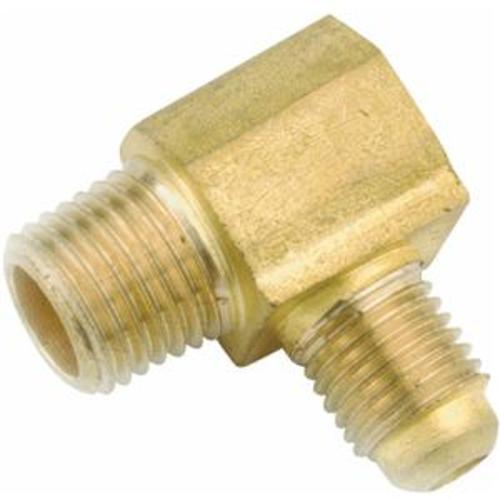 Anderson Metal 754049-1008 Brass Flare Fitting Elbow, 5/8