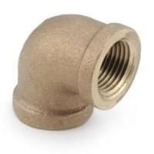 Anderson Metal 738100-02 Brass Pipe Fitting Elbow, 1/8