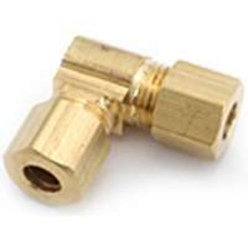 Anderson Metals 750065-05 Anderson Metal Brass Compression Fitting Elbow 5/16