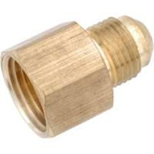 Anderson Metal 754046-0612 Brass Flare Fitting 3/8