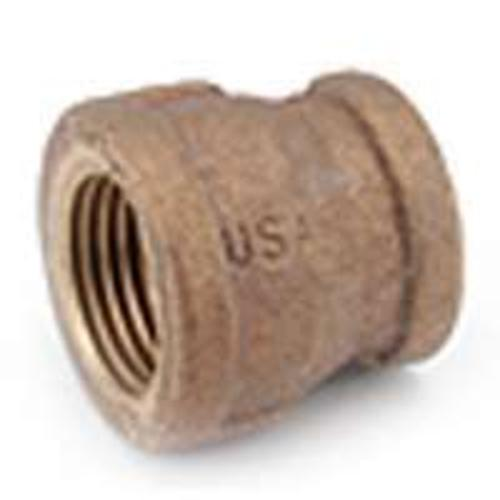 Anderson Metals 738119-1612 Brass Pipe Fitting Coupling 1