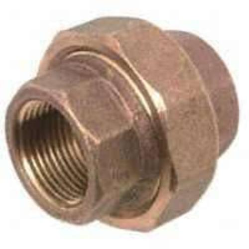 Anderson Metals 738104-04 Brass Pipe Fitting Union 1/4