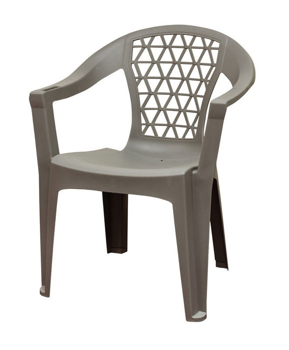 Stupendous Adams 8220 13 3900 Penza Stackable Chair Polypropylene Grey Gmtry Best Dining Table And Chair Ideas Images Gmtryco