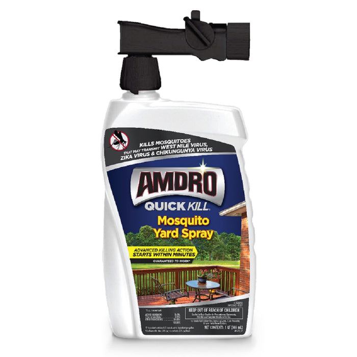 Amdro 100537441 Quick Kill Mosquito Yard Spray, 1 Quart