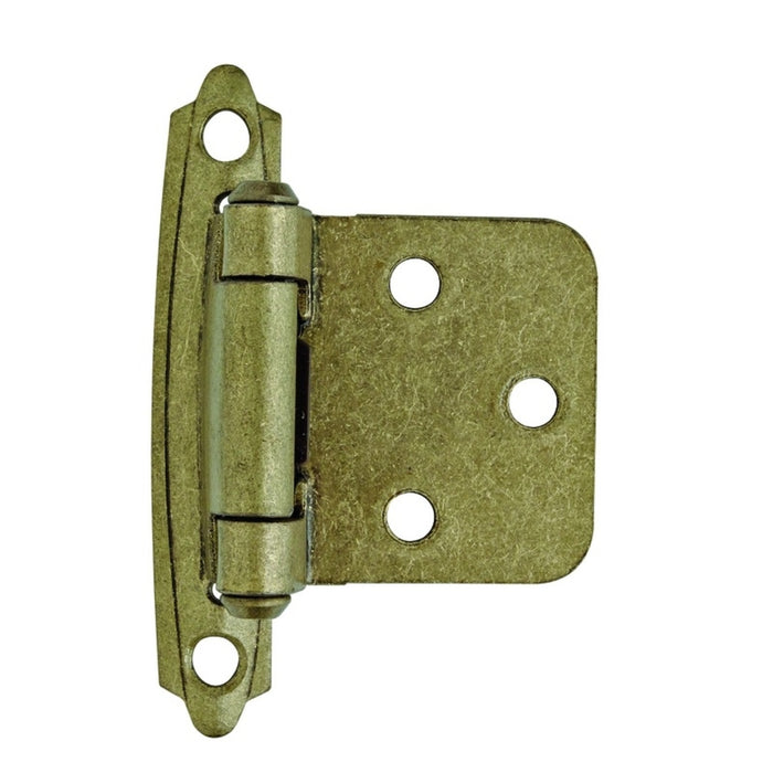 Amerock 2PKR3429BB Self Closing Hinge, Brass-Plated