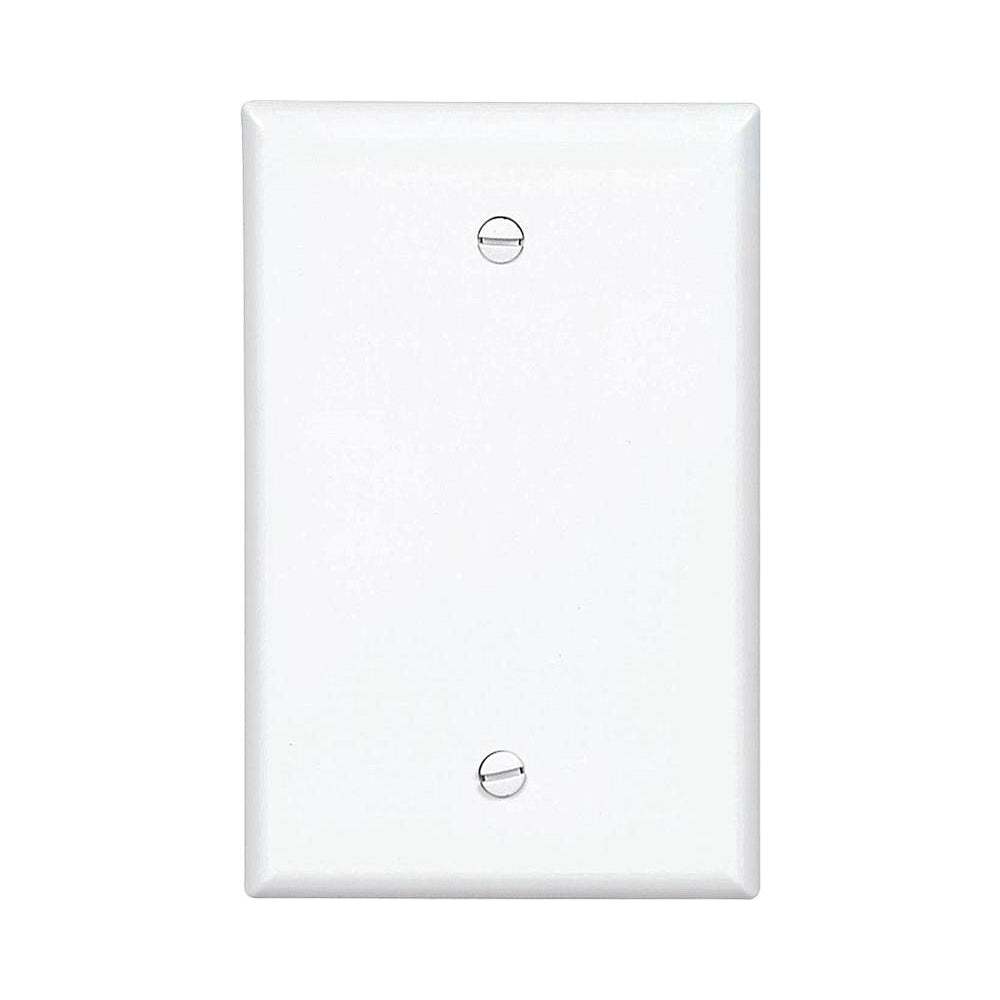 cooper wiring pj13w blank mid size wall plate  1 gang